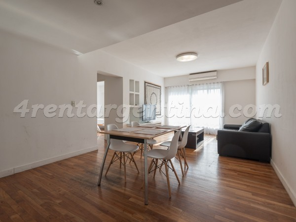 Las Heras and Junin II, apartment fully equipped