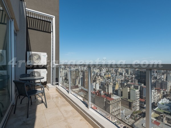 Azcuenaga et Rivadavia III: Furnished apartment in Congreso