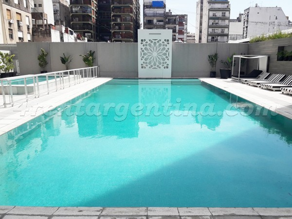 Azcuenaga and Rivadavia III: Furnished apartment in Congreso