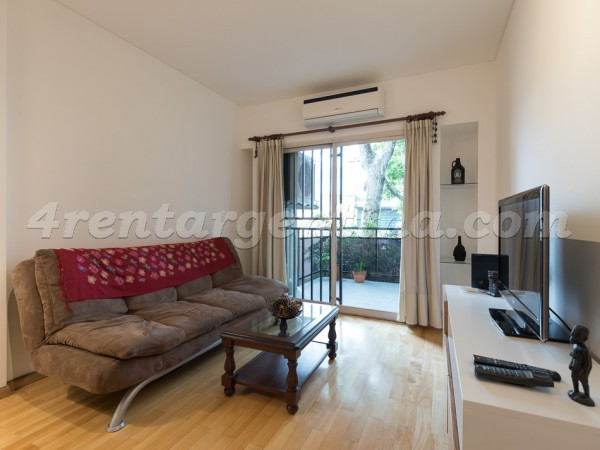Teodoro Garcia et Cabildo I: Furnished apartment in Belgrano