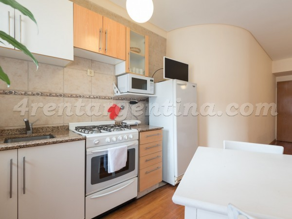 Laprida and Cordoba: Furnished apartment in Palermo