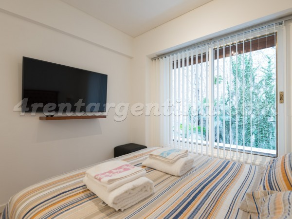 Las Heras and Callao II: Furnished apartment in Recoleta