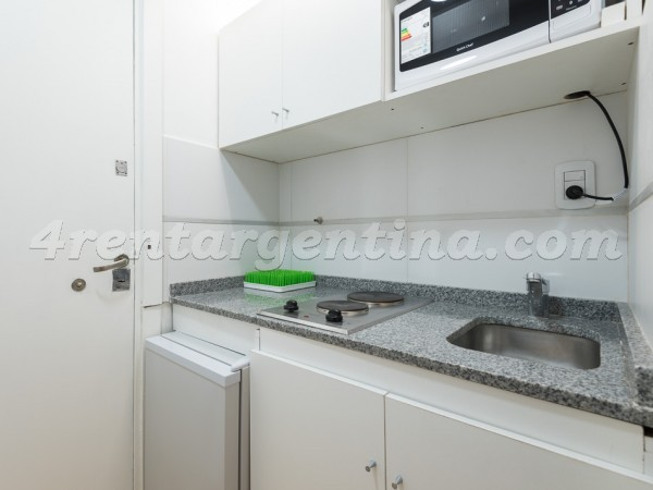 Talcahuano and Corrientes I: Furnished apartment in Downtown