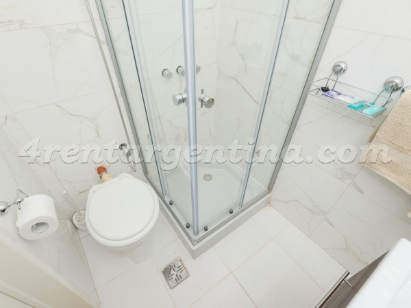 Talcahuano and Corrientes I, apartment fully equipped