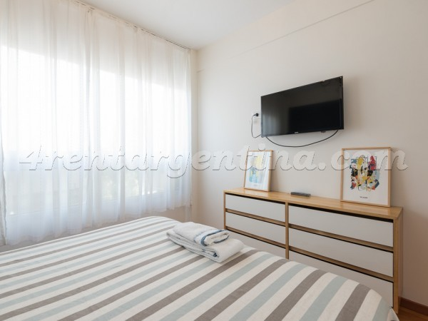 Arevalo and Santa Fe, apartment fully equipped