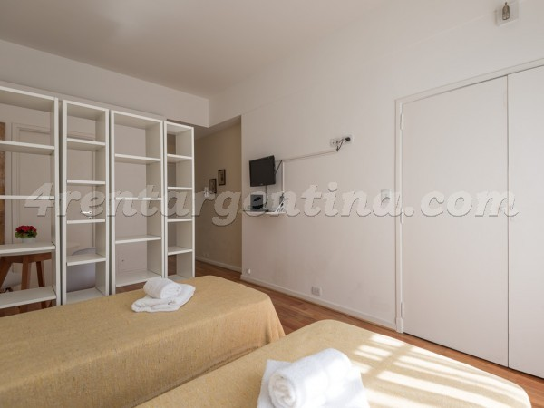 Vicente Lopez and Callao II: Furnished apartment in Recoleta