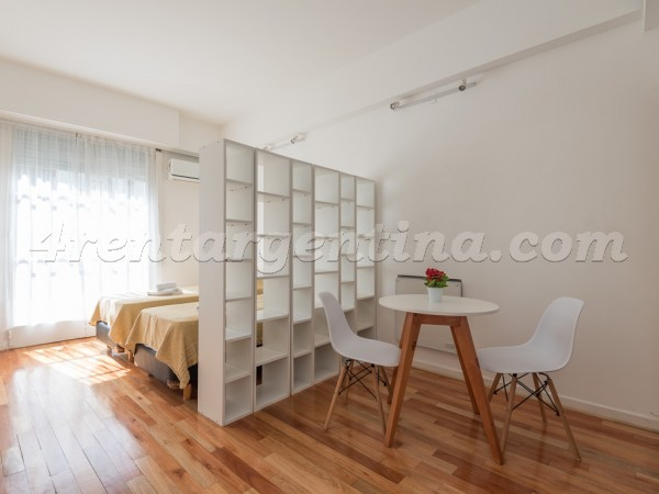 Vicente Lopez and Callao II, apartment fully equipped