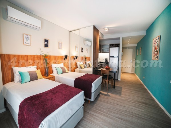 Lavalle and Anchorena II: Furnished apartment in Abasto