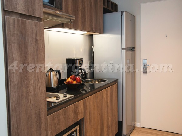 Lavalle and Anchorena III: Furnished apartment in Abasto