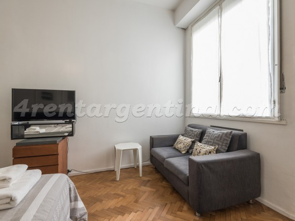 Guido et Pueyrredon III: Furnished apartment in Recoleta