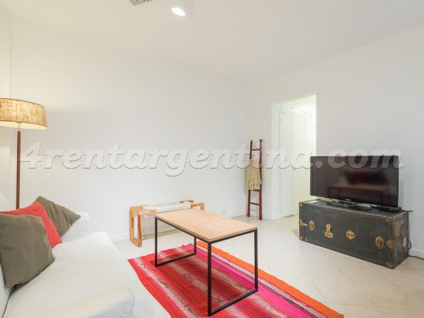 Soldado de la Independencia and Gorostiaga: Apartment for rent in Buenos Aires