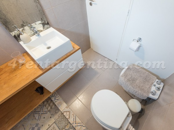 Soldado de la Independencia and Gorostiaga, apartment fully equipped