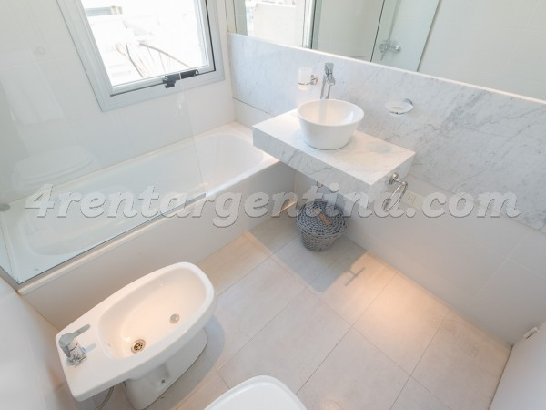 Paunero and Las Heras II, apartment fully equipped