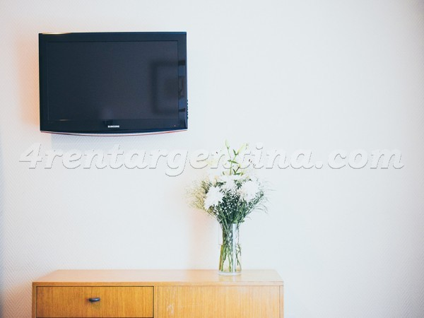 Esmeralda and Paraguay IX: Furnished apartment in Downtown