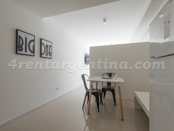 Segui and Rep. de la India: Furnished apartment in Palermo