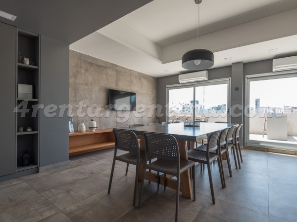 Laprida and Paraguay I: Apartment for rent in Palermo
