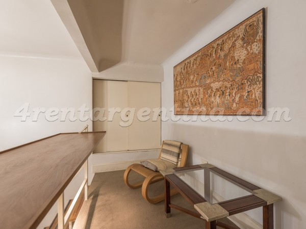 French and Junin, apartment fully equipped