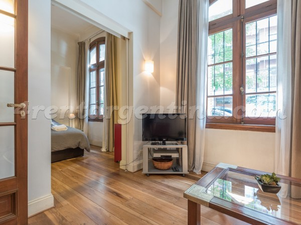 French and Junin: Furnished apartment in Recoleta