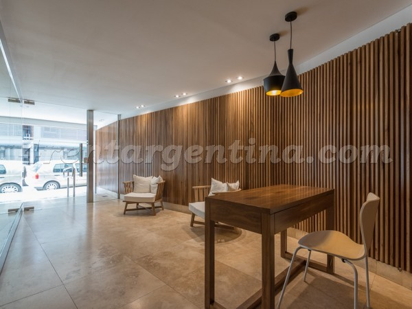 Paunero et Las Heras VII: Furnished apartment in Palermo