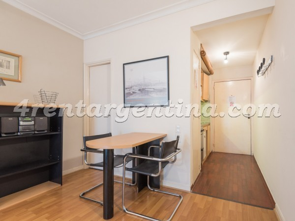 Juncal et Libertad II, apartment fully equipped