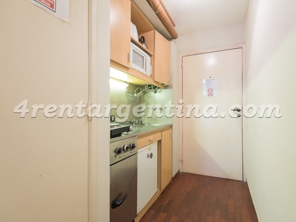 Juncal et Libertad II: Apartment for rent in Recoleta