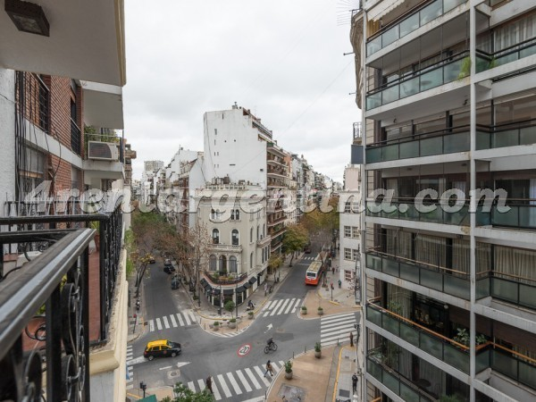 Juncal et Libertad II: Apartment for rent in Buenos Aires