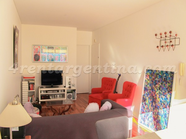 Cabello et Bulnes III: Furnished apartment in Palermo