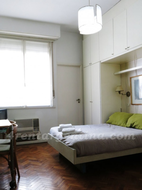 Guido and Pueyrredon VI: Apartment for rent in Buenos Aires
