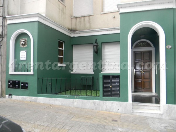 Guido and Pueyrredon VI: Apartment for rent in Recoleta