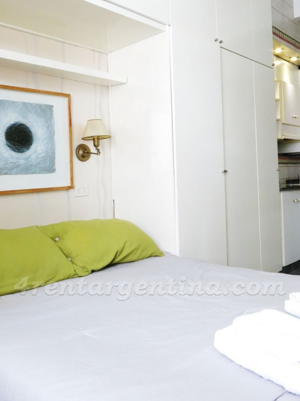 Guido and Pueyrredon VI: Furnished apartment in Recoleta