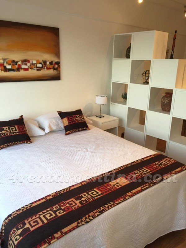 Libertador and Montevideo X, apartment fully equipped