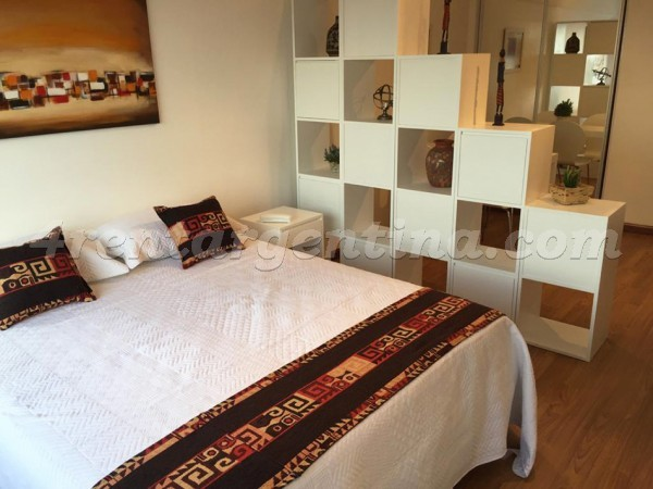 Libertador and Montevideo X: Apartment for rent in Recoleta