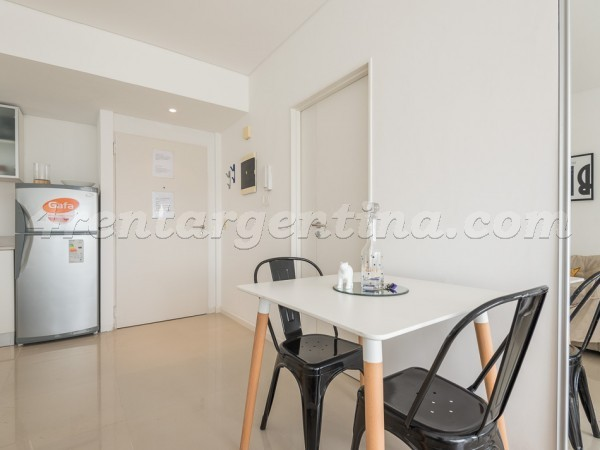 Libertador and Sucre: Furnished apartment in Belgrano