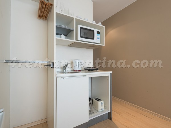 M. T. Alvear and Rodriguez Pe�a II: Furnished apartment in Recoleta