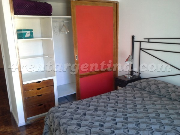 Ecuador and Santa Fe, apartment fully equipped