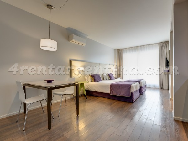 Bulnes and Guemes IX, apartment fully equipped