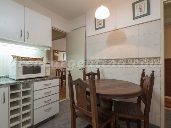 Paraguay and Talcahuano, apartment fully equipped