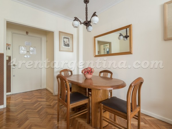 Paraguay and Talcahuano: Furnished apartment in Downtown