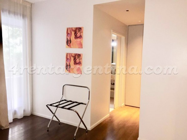 Bulnes and Guemes XX: Furnished apartment in Palermo