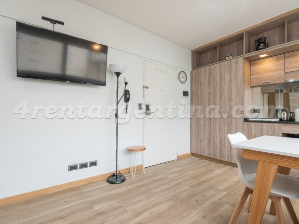 Santa Fe and Larrea, apartment fully equipped