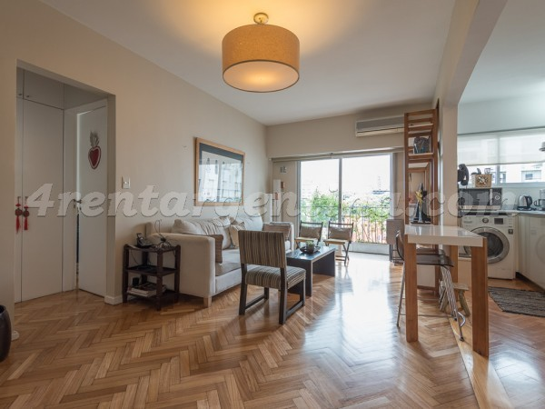 Azcuenaga et Vicente Lopez, apartment fully equipped