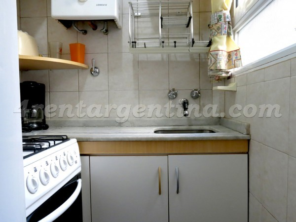 Azcuenaga et Juncal: Furnished apartment in Recoleta
