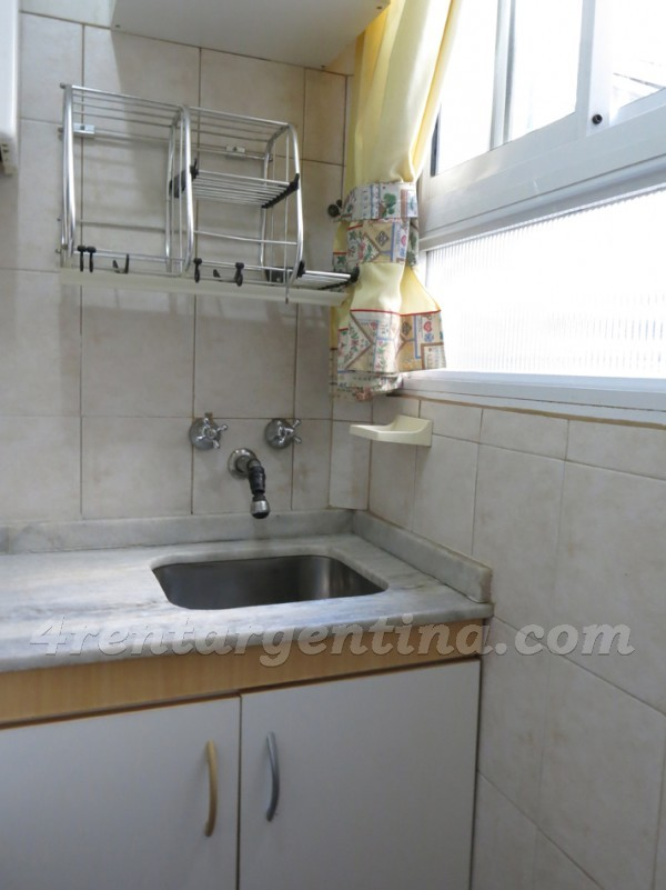 Apartment Azcuenaga and Juncal - 4rentargentina
