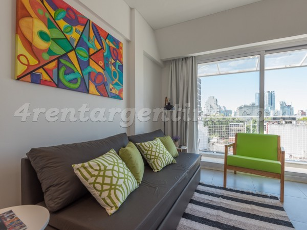 Paraguay and Juan B. Justo: Apartment for rent in Buenos Aires
