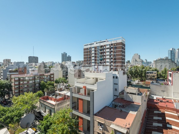 Paraguay and Juan B. Justo, apartment fully equipped