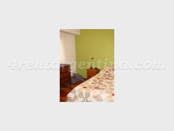 Blanco Encalada and Arribe�os, apartment fully equipped