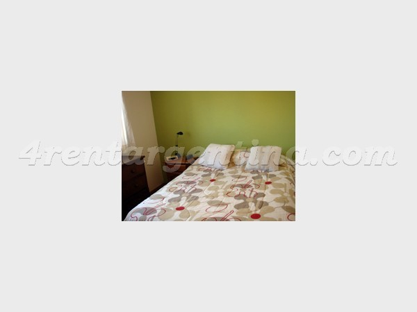 Blanco Encalada and Arribe�os: Furnished apartment in Belgrano
