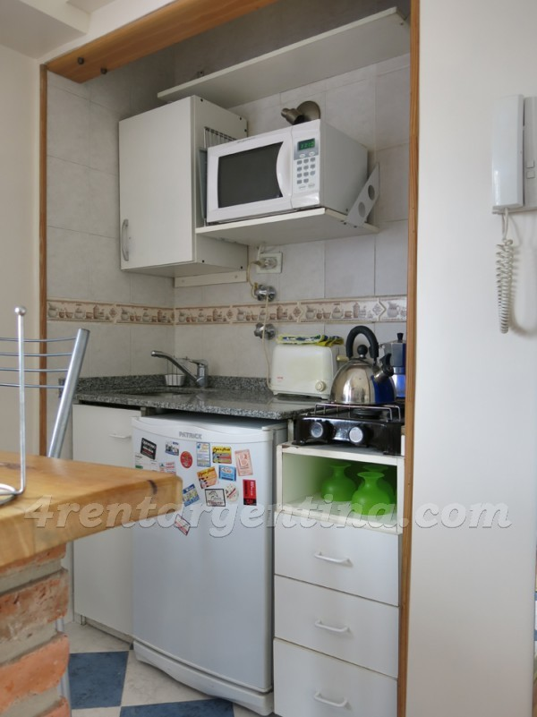 Azcuenaga and Guido X: Apartment for rent in Buenos Aires
