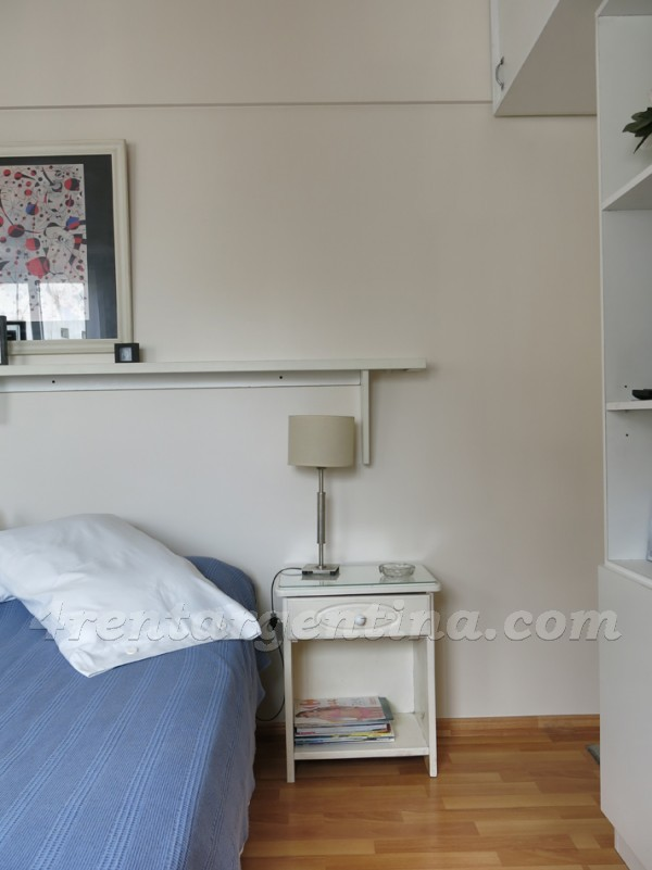 Azcuenaga and Guido X: Furnished apartment in Recoleta