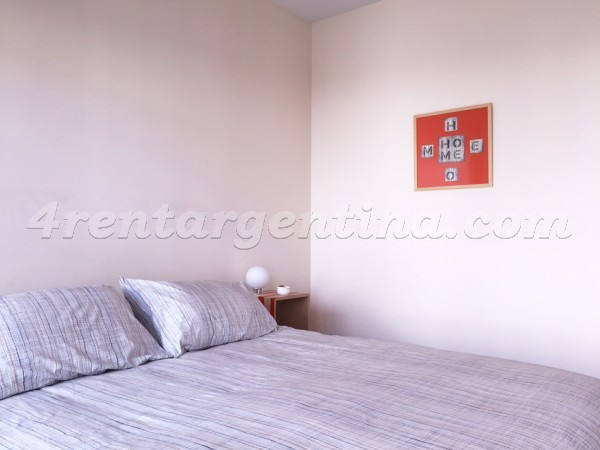 Ugarteche and Cervi�o: Furnished apartment in Palermo